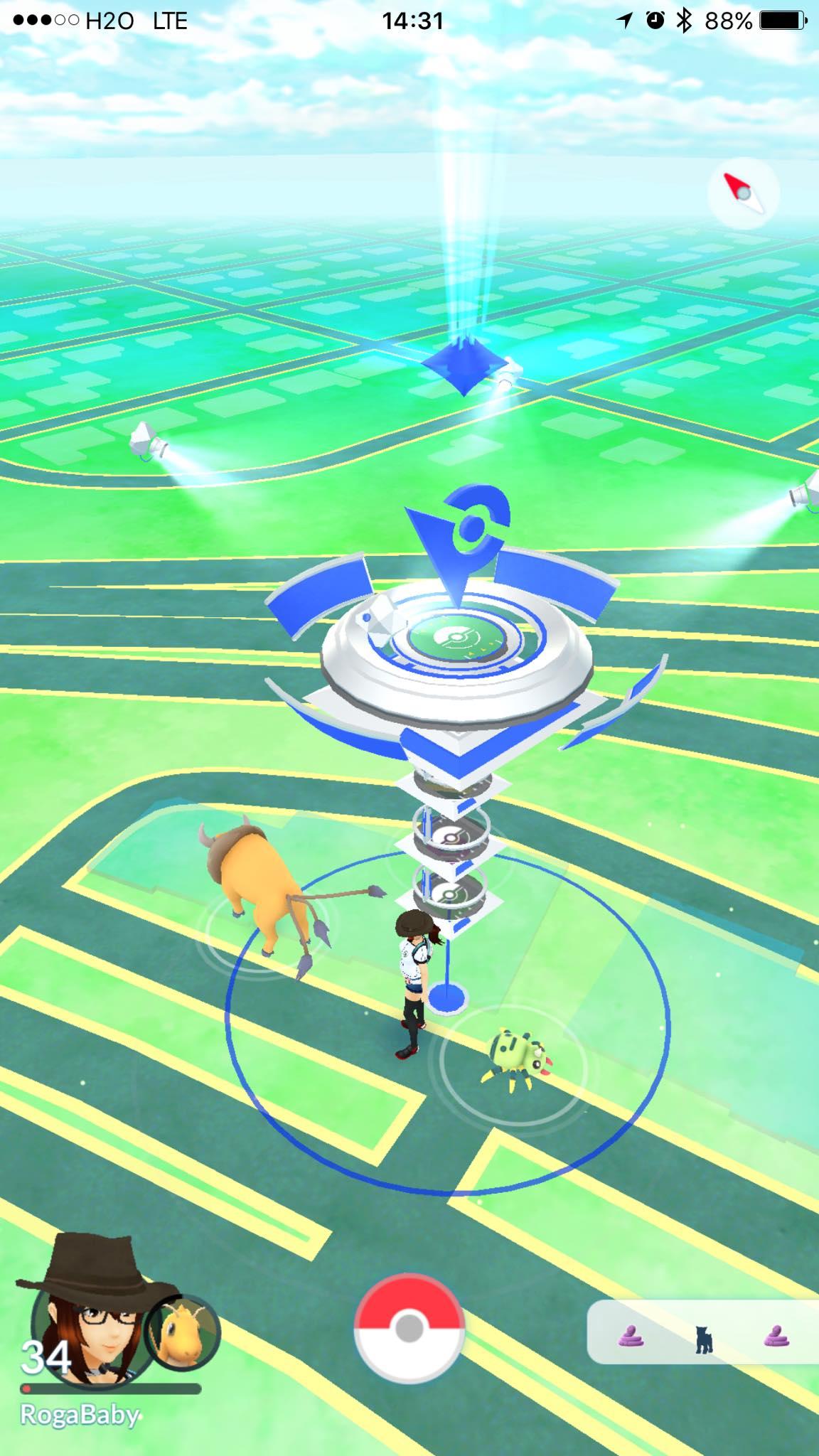 pokemon go 地圖 網頁 版